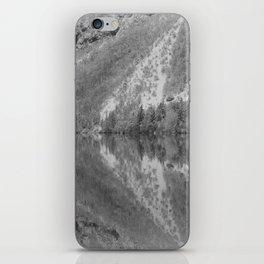 Silver Landscape At Lake Bohinj iPhone Skin