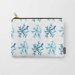 Simply Snowflakes Carry-All Pouch