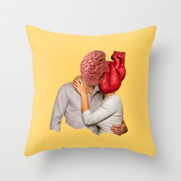 Romantic people Throw Pillow