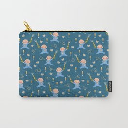 Baby Shower Boy Carry-All Pouch
