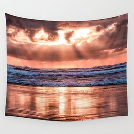 Northern California Sunset - Nature Photography Wall Tapestry
