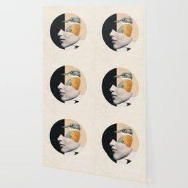 collage art / bird Wallpaper