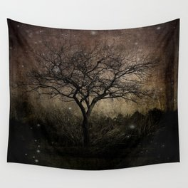 Lights in the Dark Wall Tapestry