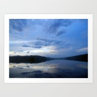 Evening Calm Art Print