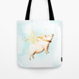 The Red Bacon Tote Bag