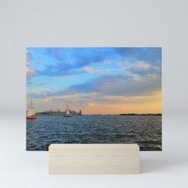 Caton Waterfront: Baltimore Inner Harbor Mini Art Print