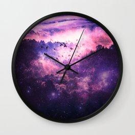 Soaring Space Wall Clock