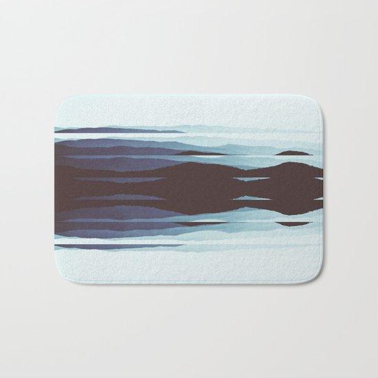 Abstract fine art piece Bath Mat