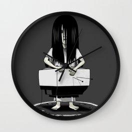 Tv Ring Wall Clock