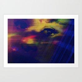 Burning Eyes 03 Art Print