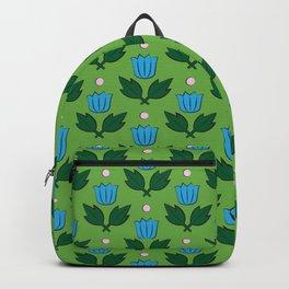 Minimal Floral Pattern Backpack