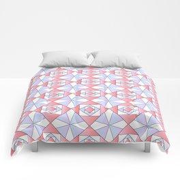 symetric patterns 71 -mandala,geometric,rosace,harmony,star,symmetry Comforters