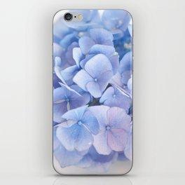 Blue Hydrangeas #3 #decor #art #society6 iPhone Skin
