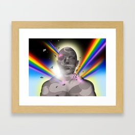'Coming out' Framed Art Print