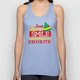 I Just Like To Smile Smiling is My Favorite Unisex Tank Top