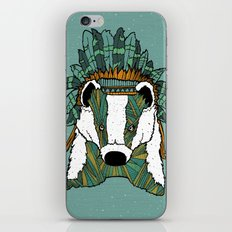 Badger Chief iPhone & iPod Skin