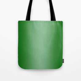 Green to Pastel Green Vertical Bilinear Gradient Tote Bag