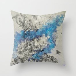 Mists of the Abyss Throw Pillow