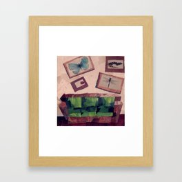 Couch  Framed Art Print