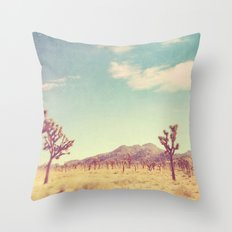 Joshua Tree photograph. desert print, No. 189 Throw Pillow