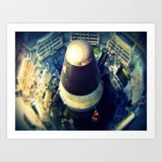 Titan Missile Art Print
