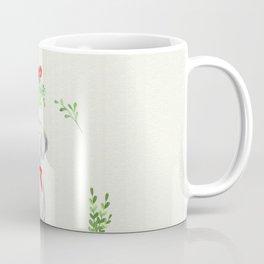 WEIMARANER UNDER THE MISTLETOE Coffee Mug