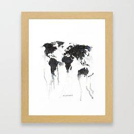 Disintegrate - Print Framed Art Print
