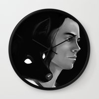 stiles Wall Clocks featuring It's a Riddle, Stiles by days & hours