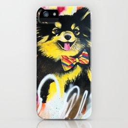 Pomeranian Pop iPhone Case