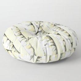 Silver Birch Floor Pillow