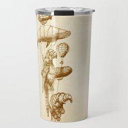The Helium Menagerie (sepia) Travel Mug