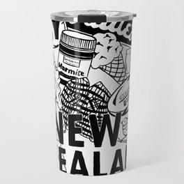 Kiwiana Doodle Travel Mug