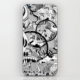 Complicado Doodle iPhone Skin