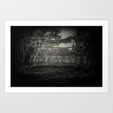 The Witch Circle Art Print