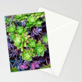 Green Fantasy by Lika Ramati Stationery Cards