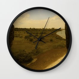The window Wall Clock