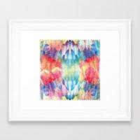boho Framed Art Prints featuring Boho by Marta Olga Klara