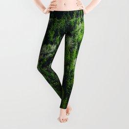 Forest pattern Leggings