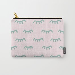Sleeping Eyes Of Wisdom-Pattern- Mix & Match With Simplicity Of Life Carry-All Pouch