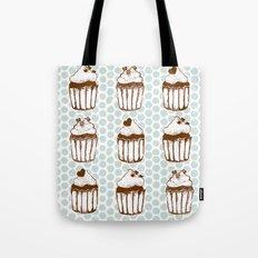 Retro Cupcakes Tote Bag