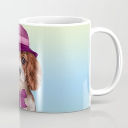 Drawing dog breed Cavalier King Charles Spaniel Coffee Mug