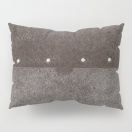Cracked & Pinned Leather (California) Pillow Sham