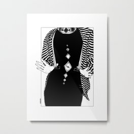 asc 442 - Le talisman (My Black Star) Metal Print
