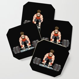 Weightlifting   Fitness Workout Coaster