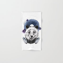 The Bear (Spirit Animal) Hand & Bath Towel