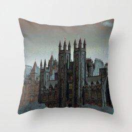The Mound Edinburgh Throw Pillow