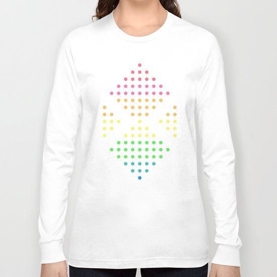 Sugar Dots (white) Long Sleeve T-shirt