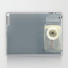 Eyeball in Mason Jar Laptop & iPad Skin