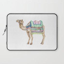 Boho Camel Tassel India Morocco Camel Watercolor Laptop Sleeve