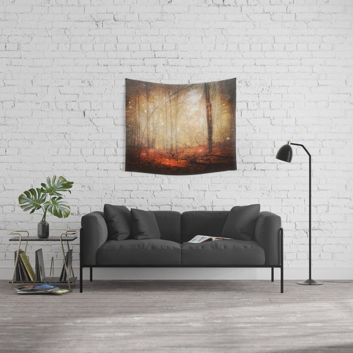 Fire Within Wall Tapestry